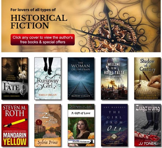 How to sell books the ultimate guide to author joint promotions the screenshot above is an example of what a joint promotion page might look like courtesy of dream team network member chris brookes malvernweather Gallery
